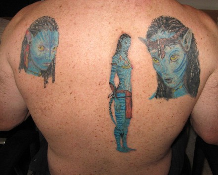 7:46 pm and is filed under Art, Bollocks with tags avatar tattoo fail.